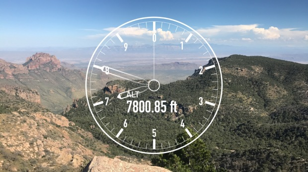 Emory Peak 7800 Feet