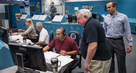 Z-2 Space Suit CO2 Washout Manned Ambient Evaluation | Photographer: James Blair