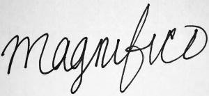 """""""Magnifico"""""""