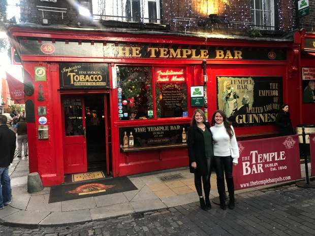 Temple Bar with Marta