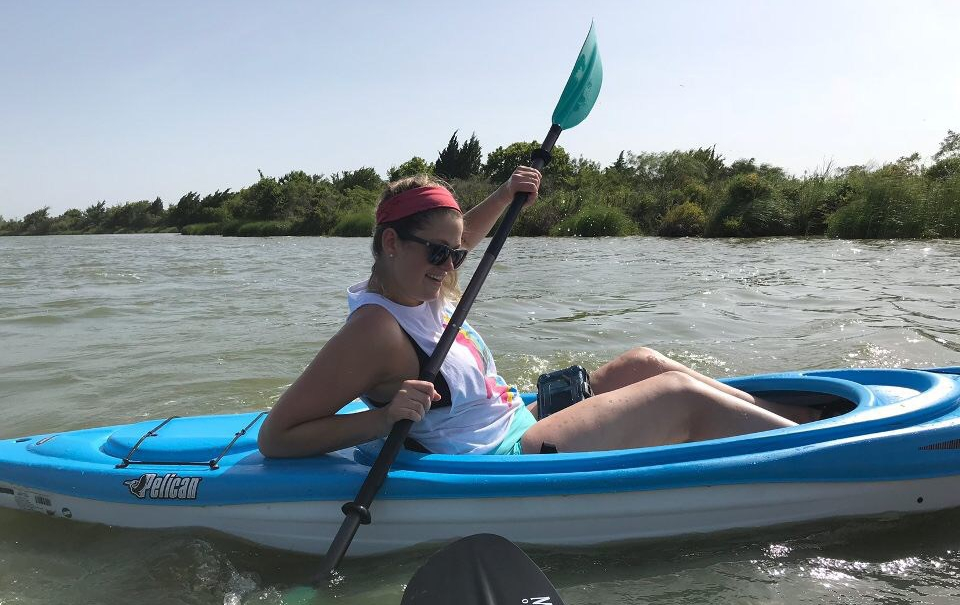Kayaking on Clear Lake